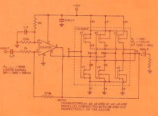 Precision Rectifier, Direct Coupled Power, CMOS Power Booster Circuit Diagrams Explained