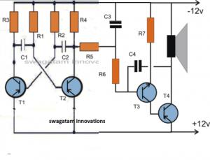 How to Make a Dual Tone Siren Circuit