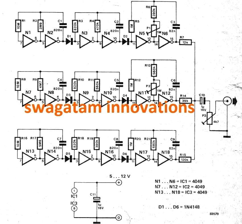 bullet sound simulator circuit