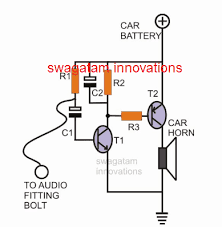 car burglar alarm circuit
