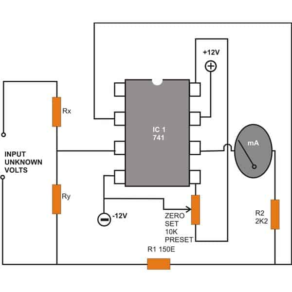 Make a Workbench Multimeter With the IC 741