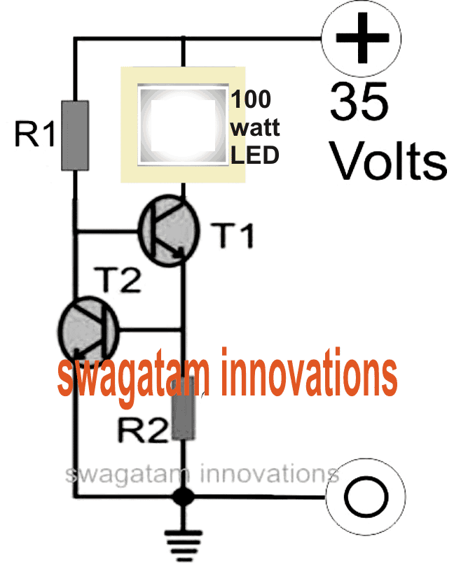 Make a 100 Watt LED Floodlight Constant Current Driver