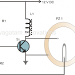 12 Volt Piezo Buzzer Circuit Diagram 150x150 - Shop Shutter Guard Circuit