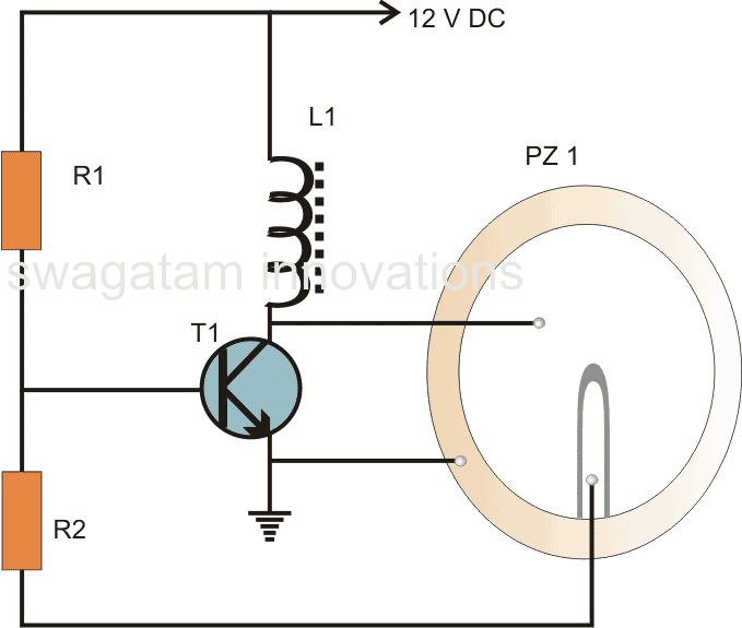 Make this Simple Buzzer Circuit with Transistor and Piezo