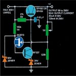 High Voltage Power Supply Circuit Diagram 150x150 - 0-60V LM317 Variable Power Supply Circuit