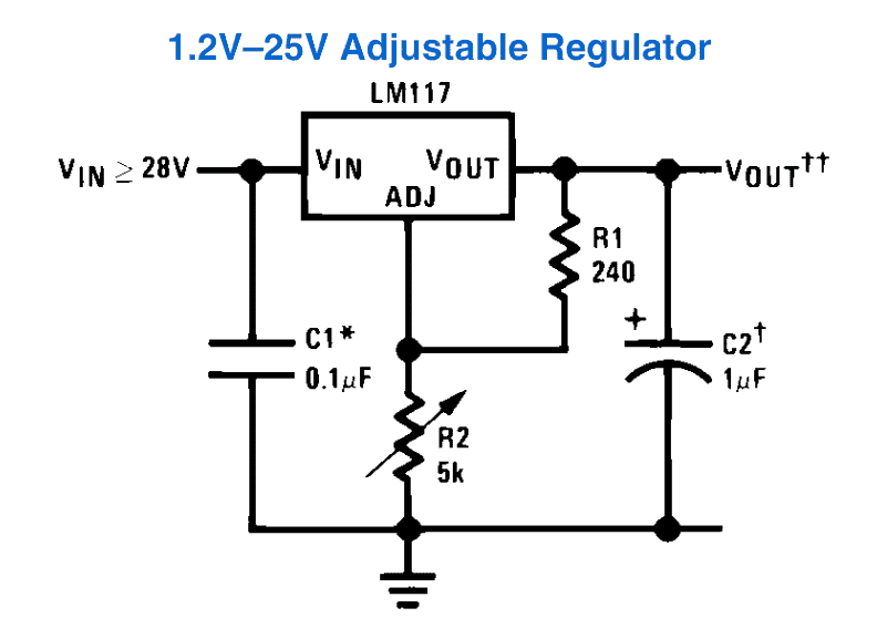 How to Use LM317 for Making a Variable Power Supply Circuit