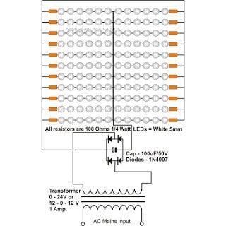 LED Tube Light Circuit
