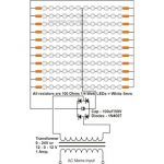 LED Tube Light Circuit Diagram Using a Transformer 150x150 - Make this LED Cricket Stump Circuit at home
