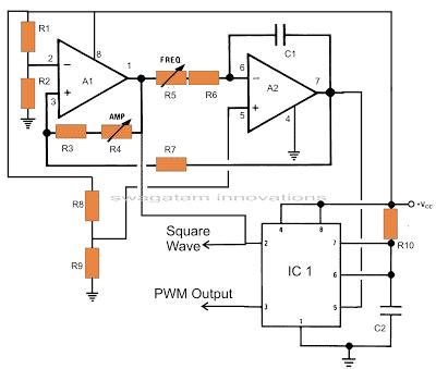 pure sine wave inverter circuit