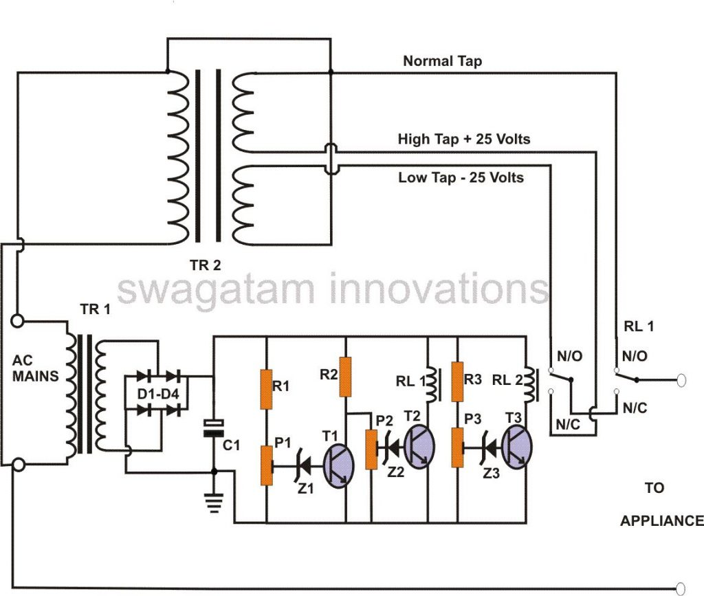 How To Make A Voltage Stabilized Transformerless Power How To
