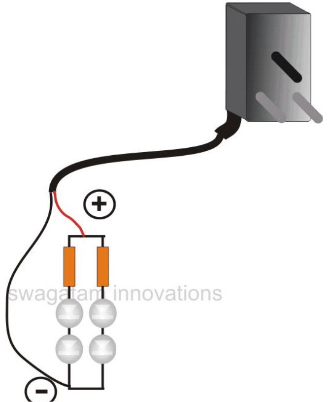 Making LED Lamp using Cellphone Charger Circuit