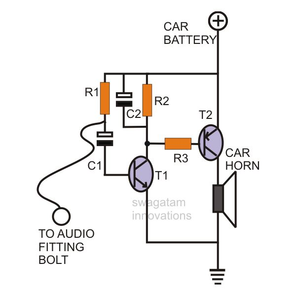 simple car burglar alarm