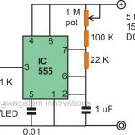 Make Interesting Flasher and Fader LED Circuits Using IC 555