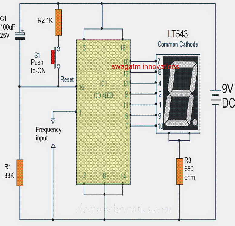 1 to 10 minutes Timer Circuit