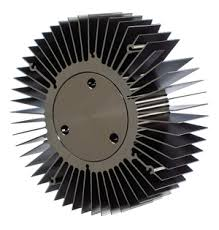 round heatsink for car headlight LED