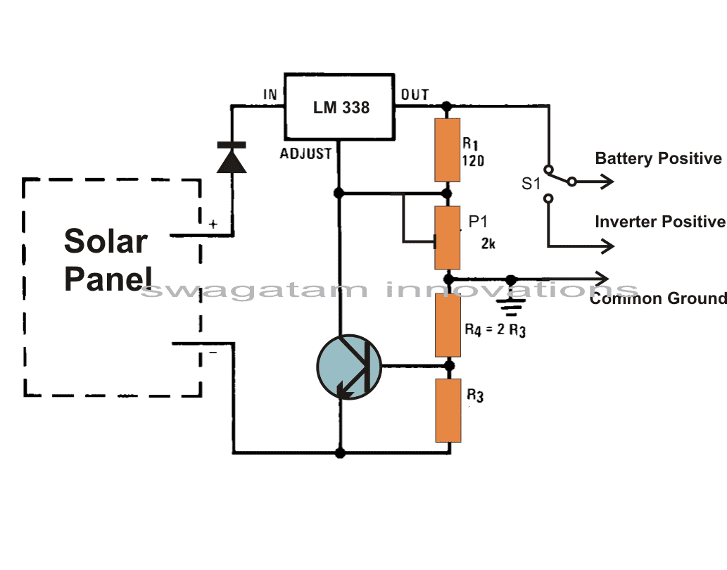 Build A Solar Panel Voltage Regulator Charger Circuit