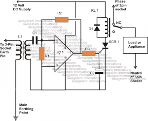 How to Make a Homemade Earth Leakage Circuit Breaker (ELCB) Unit Using IC 324