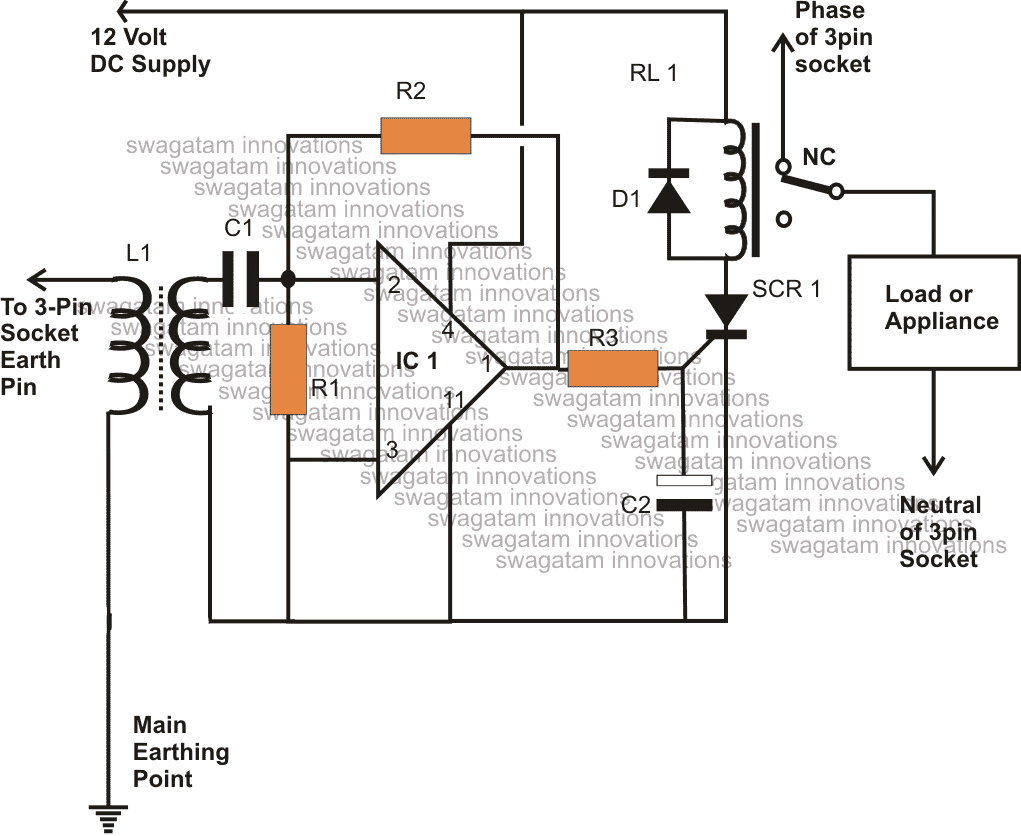 Elcb Circuit Diagram 20 Wiring Images Diagrams Connection Of Elcbcircuit How To Make A Homemade Earth Leakage Breaker Unit
