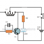 How to Make a Simplest Blue, White LED Driver Circuit – Joule Thief