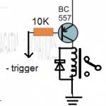 PNP relay driver circuit