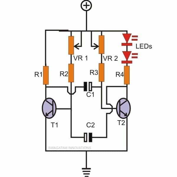 Quench Tube Circuit Schematic Diagram Strobe on