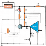Automatic 12 volt Battery Charger Circuit Using IC LM 338