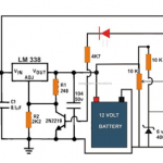 6V, 12V, 24V Battery Charger Circuit