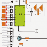 How to Make a LED Chaser cum Blinker Circuit Using IC 4017