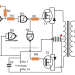How to Make a Simplest 150 watt MOSFET Inverter Circuit