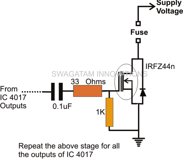 Pyro-ignition mosfet power