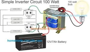 5 Simple Inverter Circuits you can Build at Home