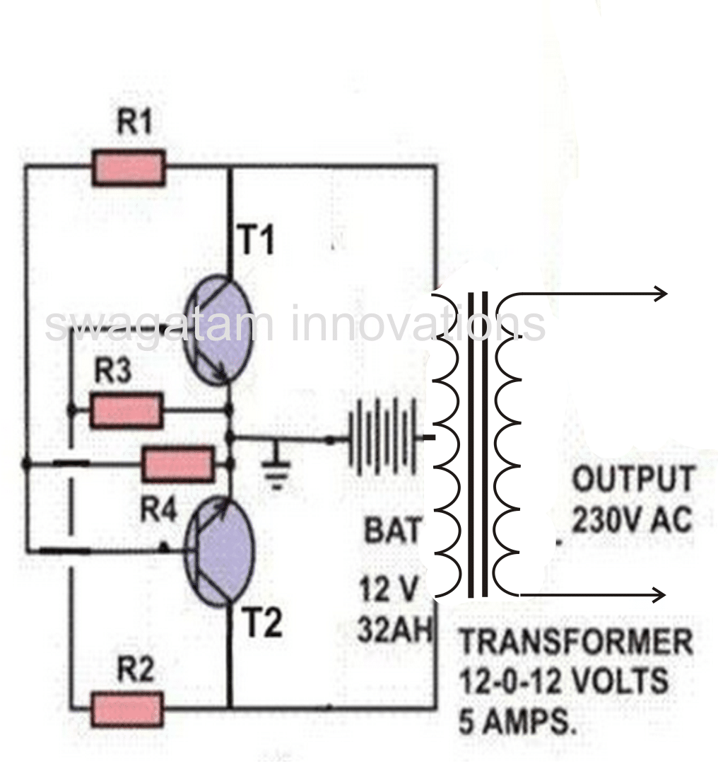 simplestinverter making a simple inverter circuit inverter circuit diagram at readyjetset.co