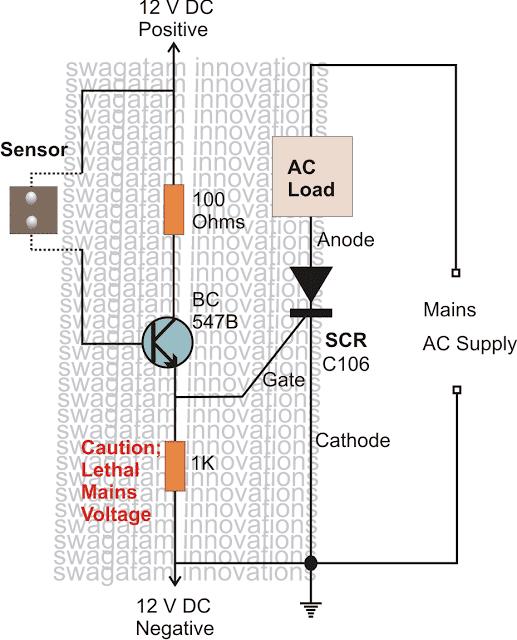 rainalarm - How to Make Simple SCR Application Circuits