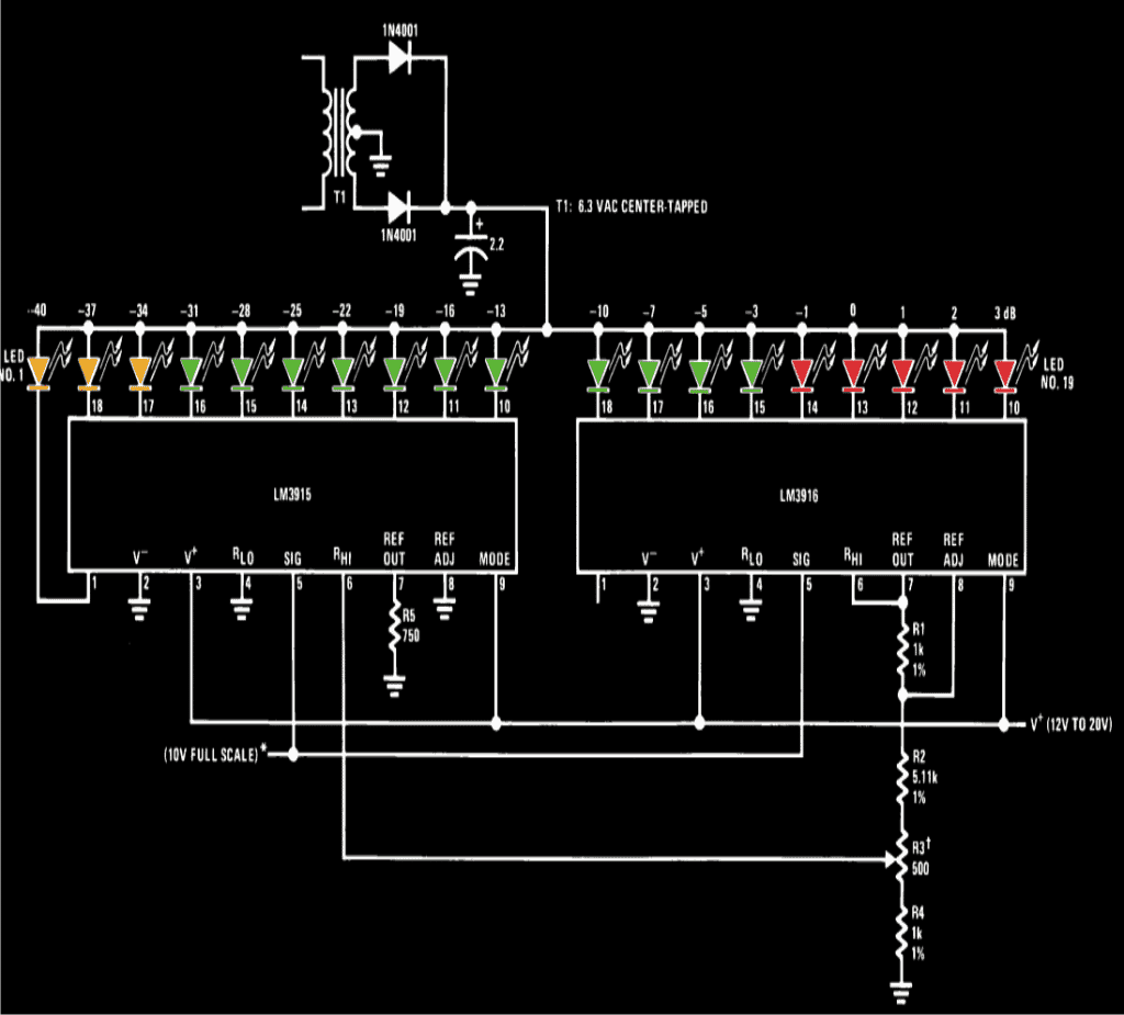 Simple Led Vu Meter How To Build 4