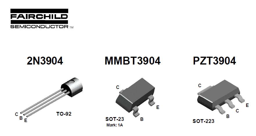 Transistor 2N3904 – Pinout and Specifications