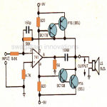 How to Make IC 741 Application Circuits – Power Amplifier and Regulated Power Supply Circuits