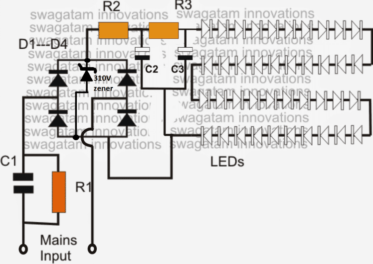 led bulb circuit 1 simple led bulb circuit led lights circuit diagrams at mifinder.co