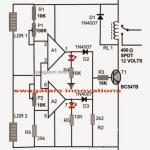 Make This Simple Motion Detector/Sensor Alarm Circuit