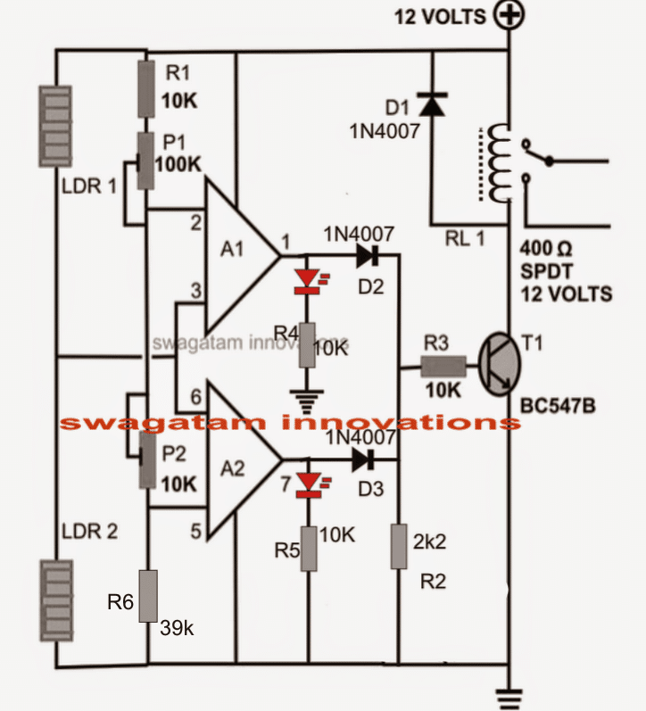 Make This Simple Motion Detectorsensor on emergency light wiring diagram