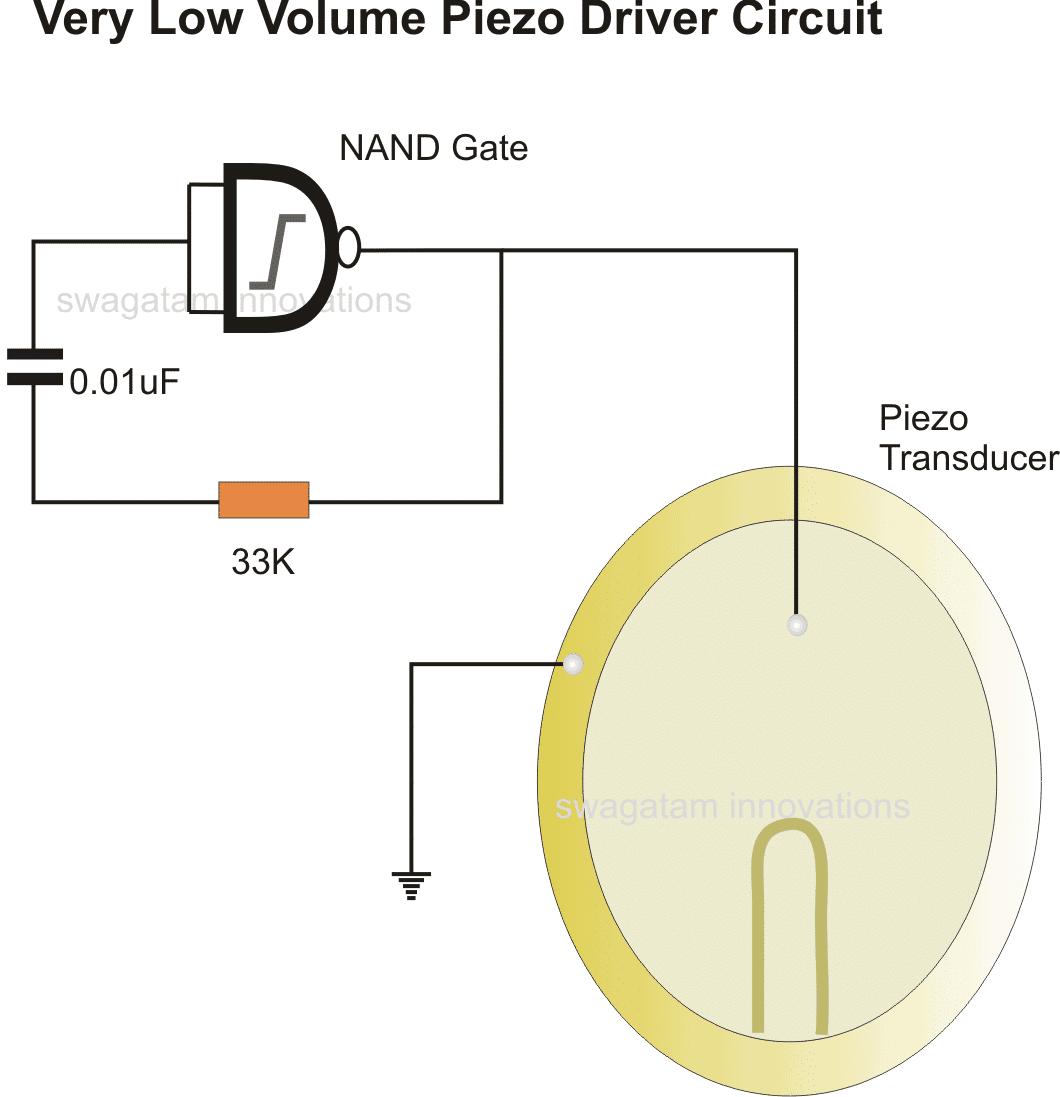27mm Piezoelectric Transducers Piezoelectric Sensor , Piezo Transducer Piezo Wiring Diagram CBG Wiring-Diagram Piezo Transducer Structure At IT-Energia.com