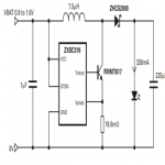 1 Watt LED Driver Circuit Using a Single 1.5 Cell