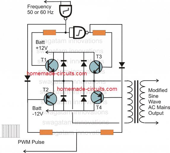 design an H-bridge circuit