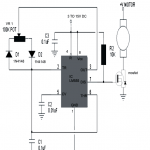 PWM motor control circuit 150x150 - PWM Motor Speed Controller with Adjustable Delay Timer