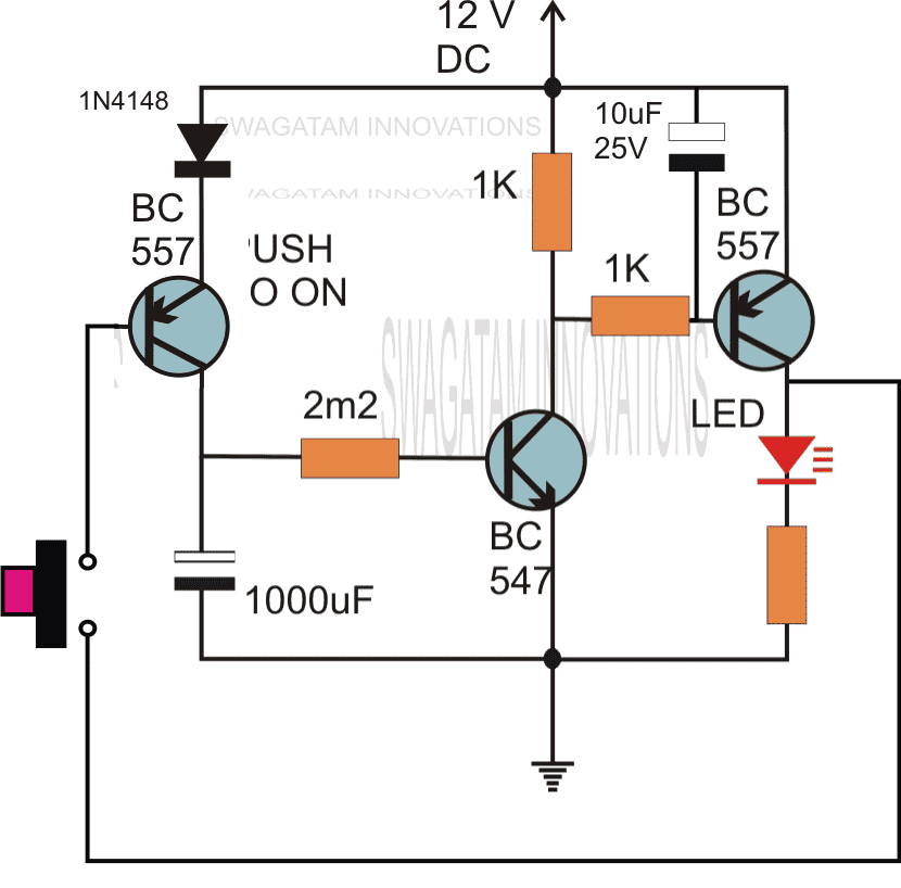 Simple delay timer circuits explained during this time any further pressing of the push button has no impact on the timer as long as the output is active or until the timer has finished its sciox Image collections