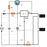 DC Double Cellphone Charger Circuit