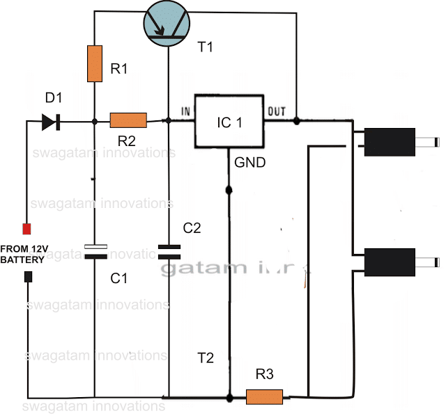 Dc To Dc Double Cell Phone Charger on solar energy circuit diagram pdf