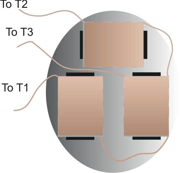 electromagnets arrangement
