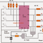 Make this Fastest Finger First Indicator Game Circuit