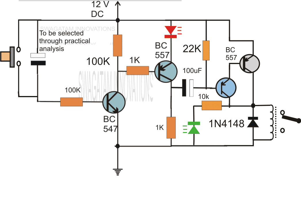 sequentialdelayrelaycircuit simple delay timer circuits explained time delay circuit diagram at gsmportal.co