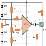 Make this Thermo-Touch Operated Switch Circuit Using IC 741